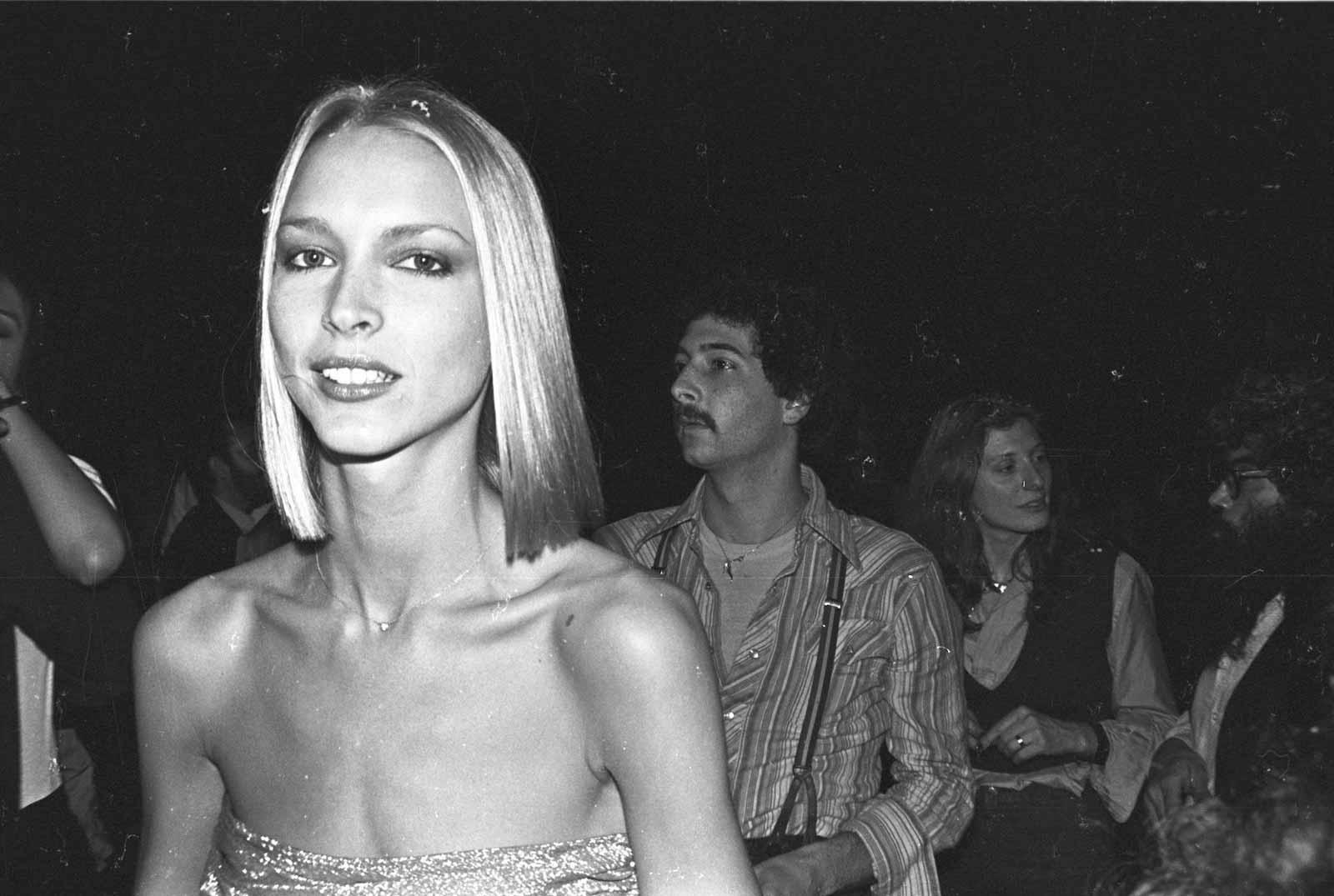 Karen Bjornson at Studio 54, 1978.