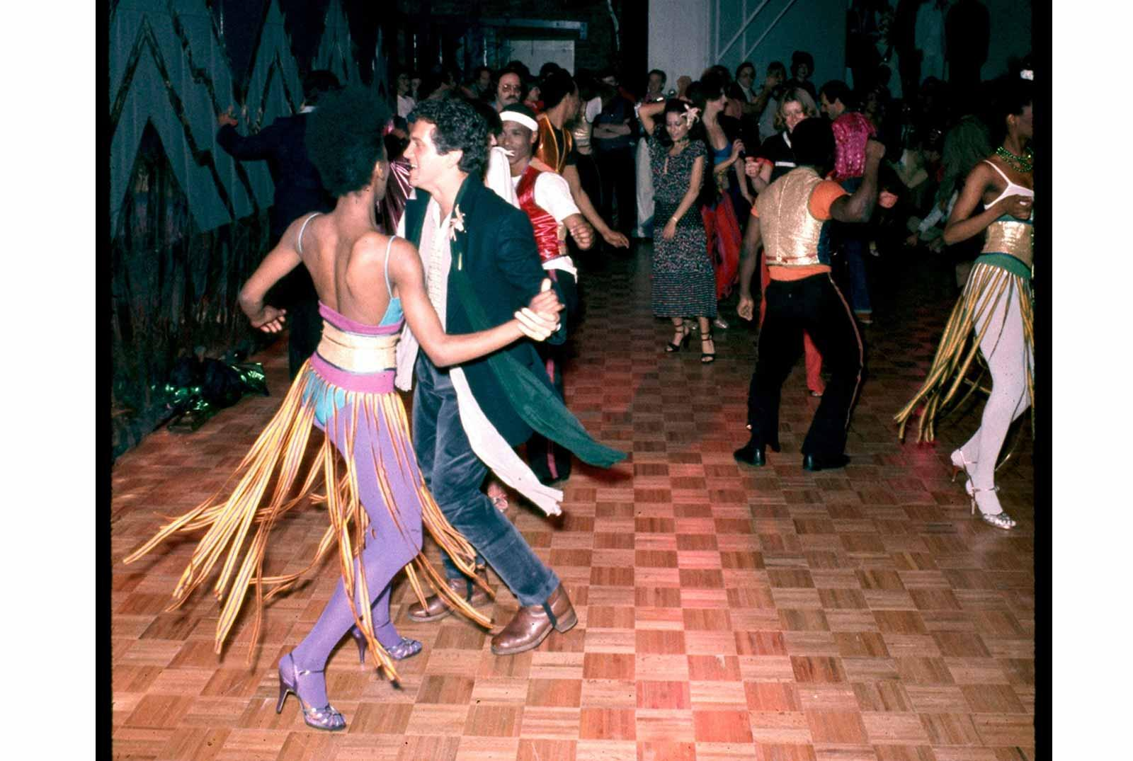 Alvin Ailey performance, opening night of Studio 54, April 26, 1977.