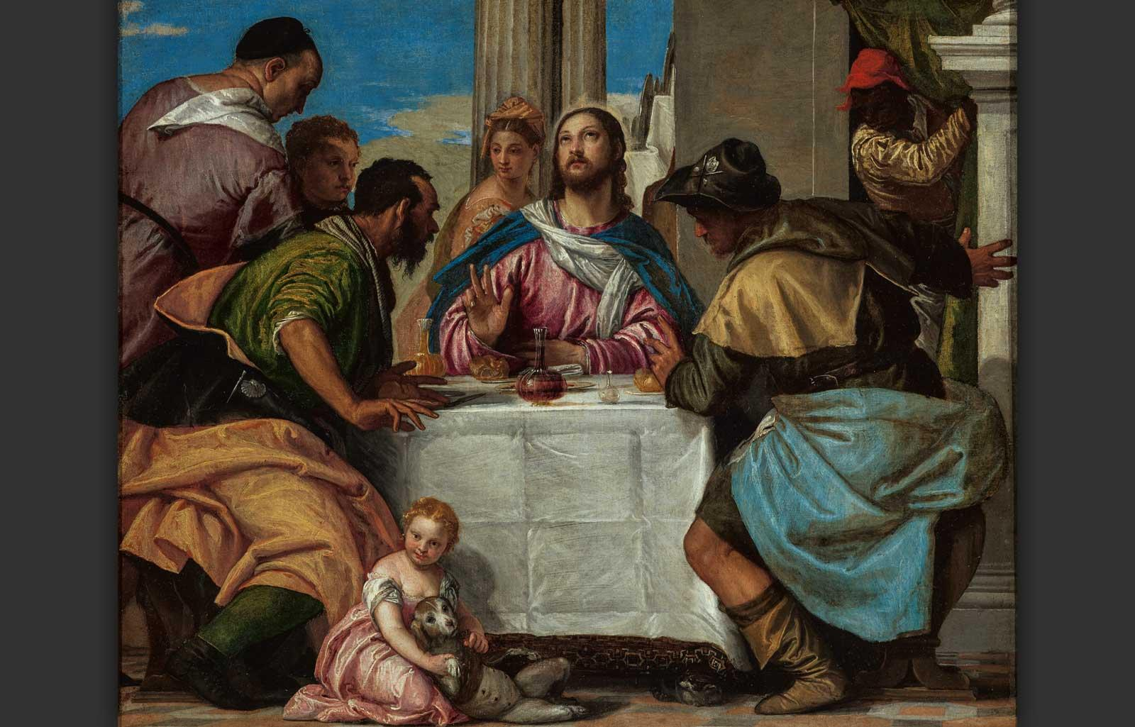 Supper at Emmaus, mid 1570s. Paolo Caliari, called Veronese.