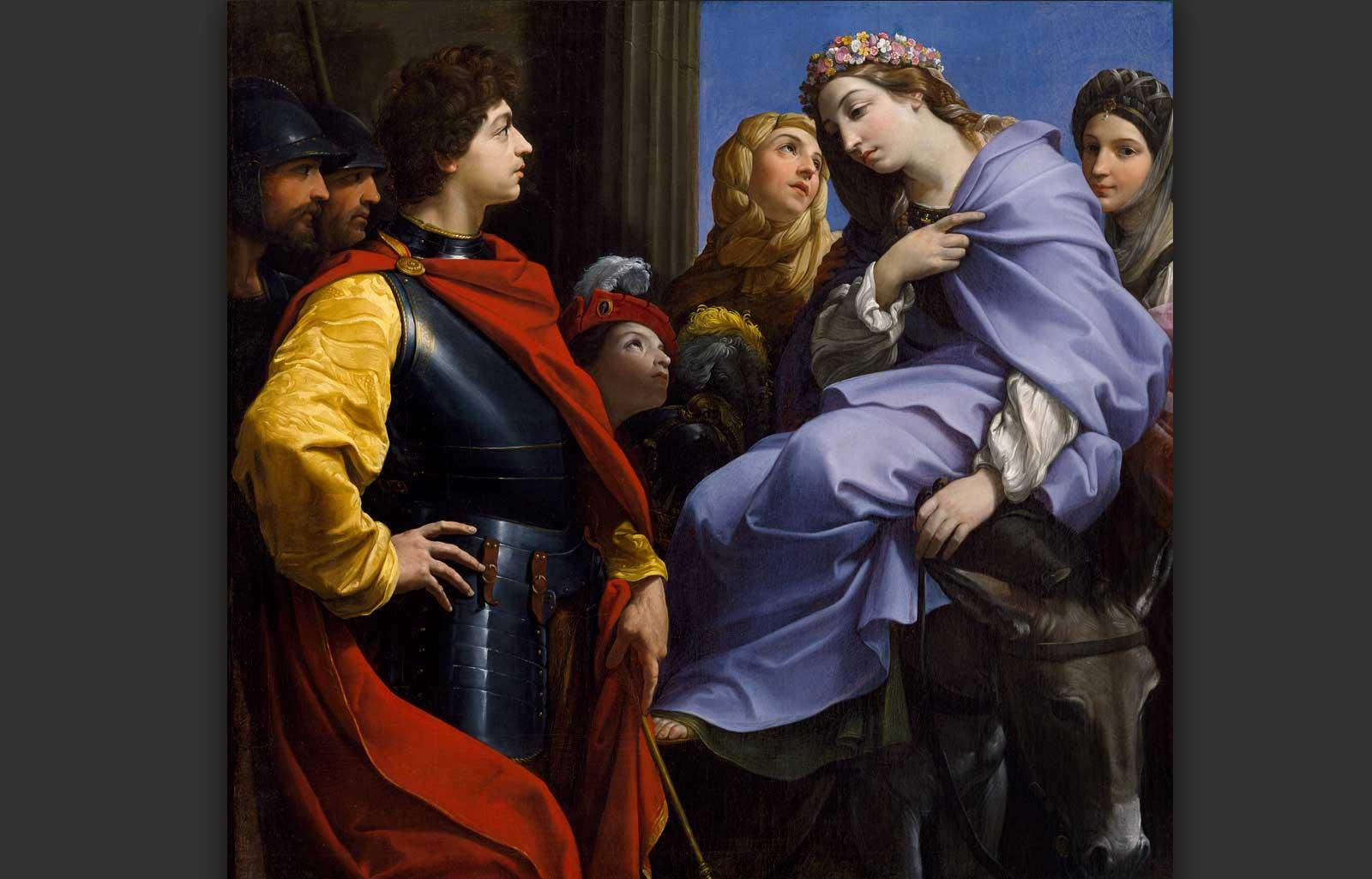 The Meeting of David and Abigail, ca. 1615-20, Guido Reni.