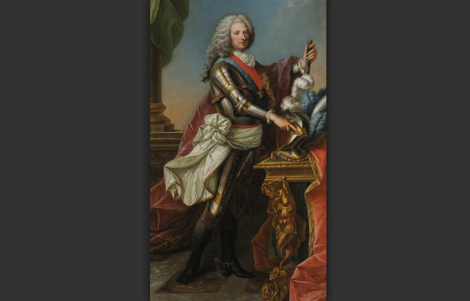 Philippe II, Duke of Orléans, 1715-1723, Attributed to Guy Noël Aubry.