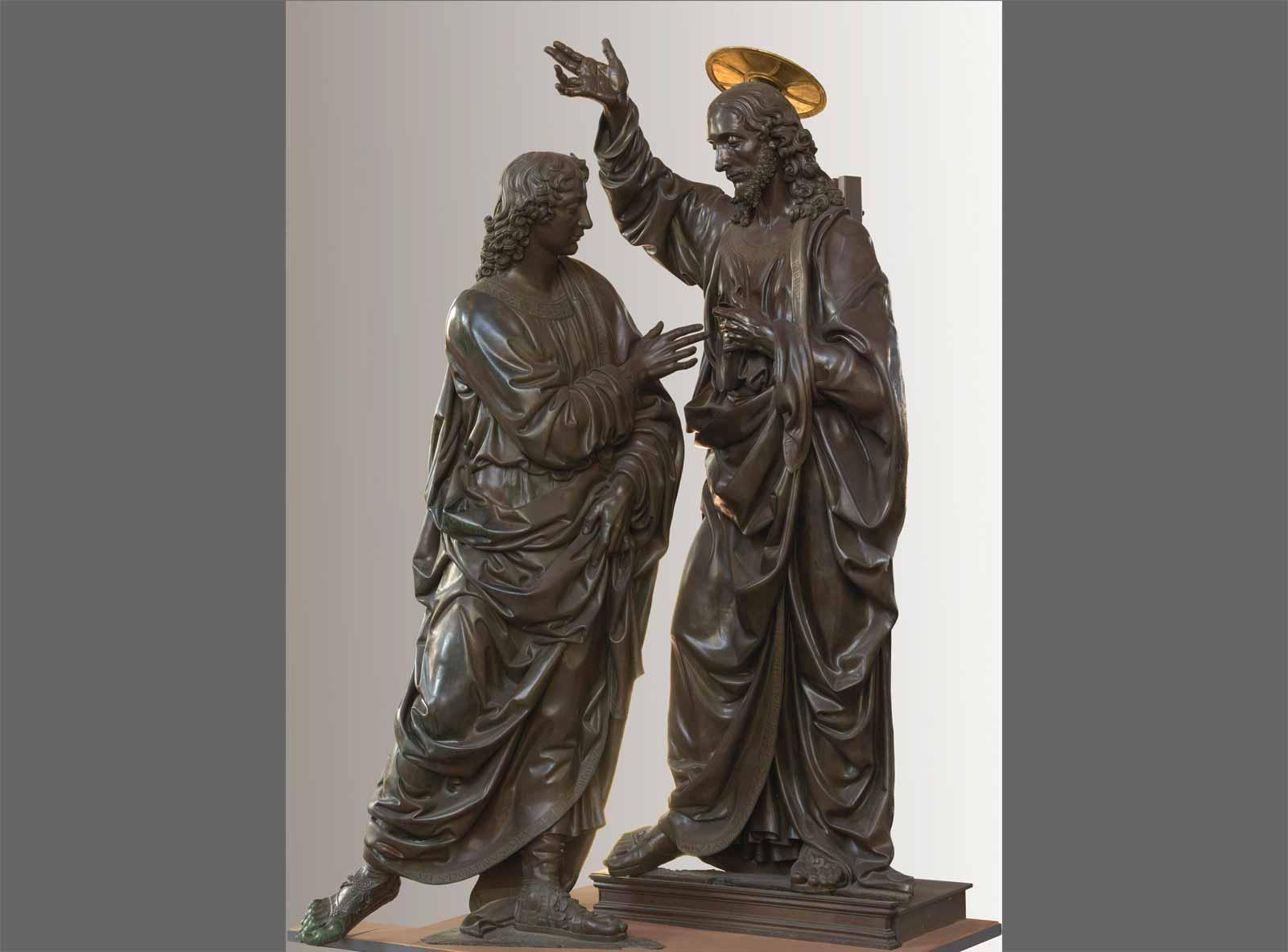 Andrea del Verrocchio Incredulity of Saint Thomas.