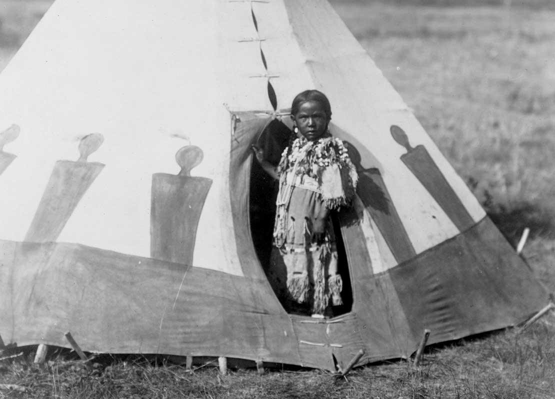 Crow Chief's Daughter, 1910.