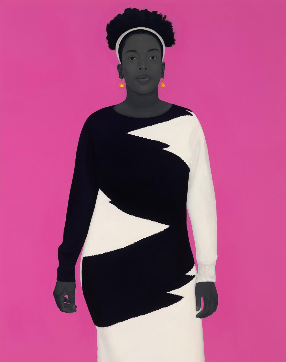 Amy Sherald, Sometimes the king is a woman, 2019