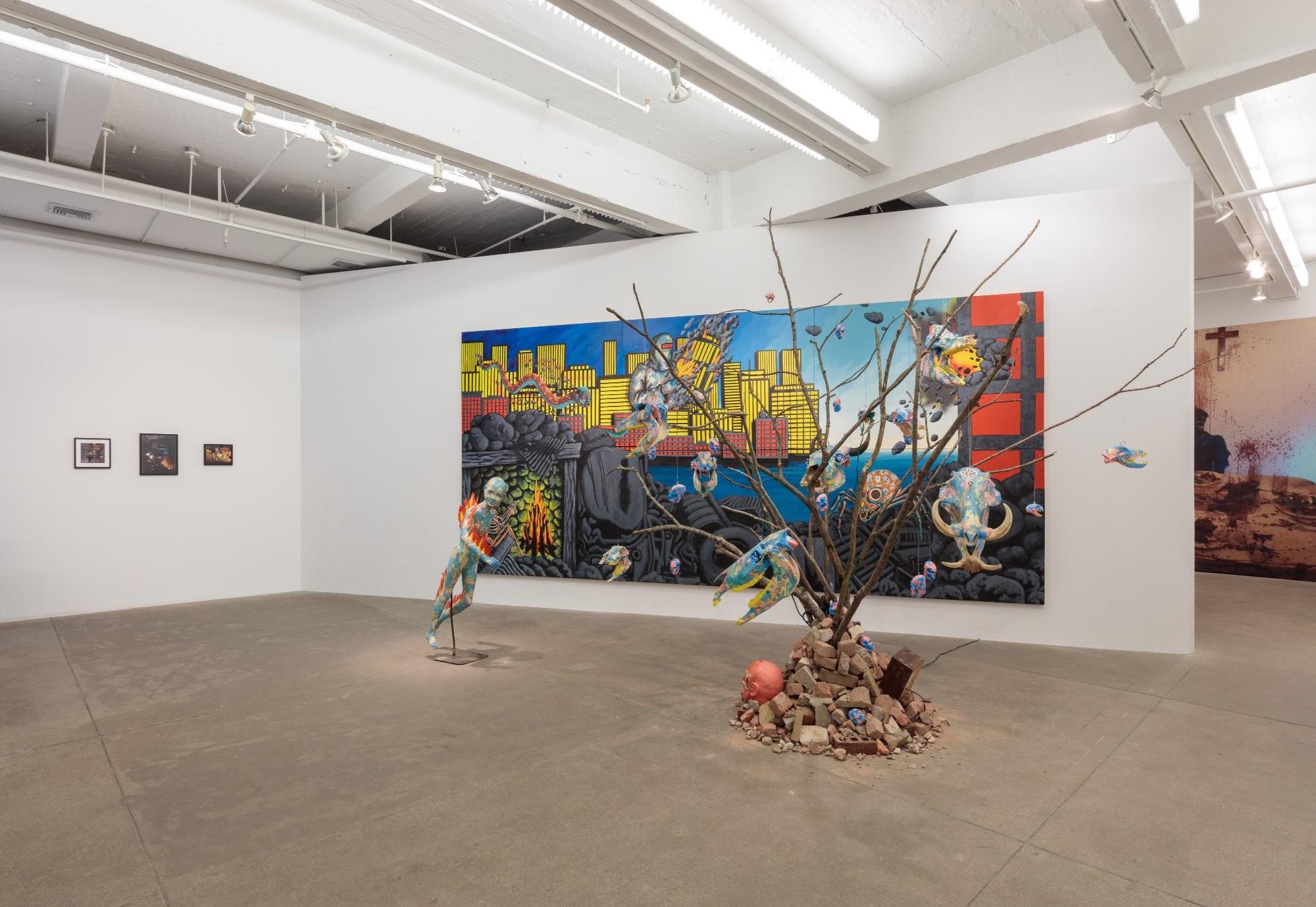 Installation view, Soon All This Will Be Picturesque Ruins: The Installations of David Wojnarowicz at P·P·O·W, New York, now available to view online.