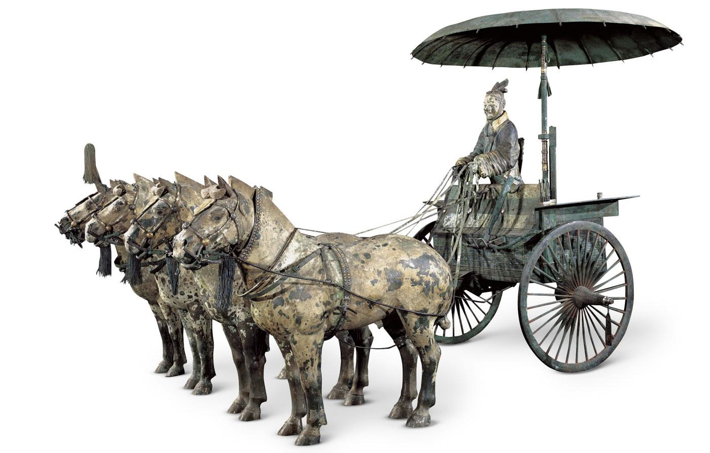 Chariot No. 1 with Horses