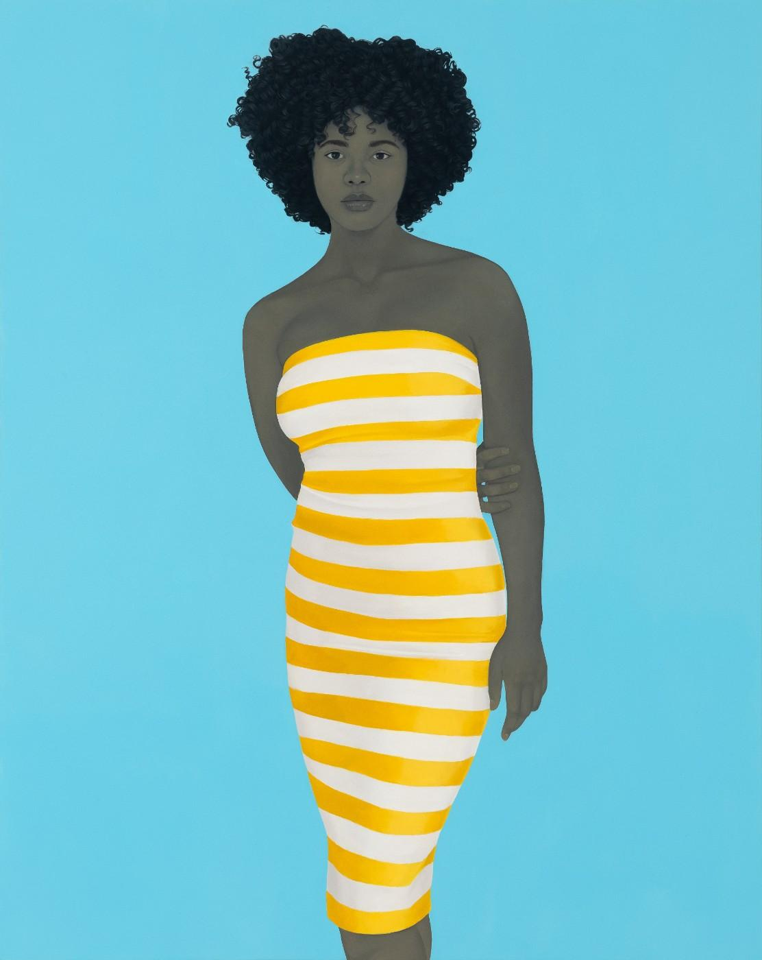 Amy Sherald, There is no charm equal to tenderness of heart, 2019