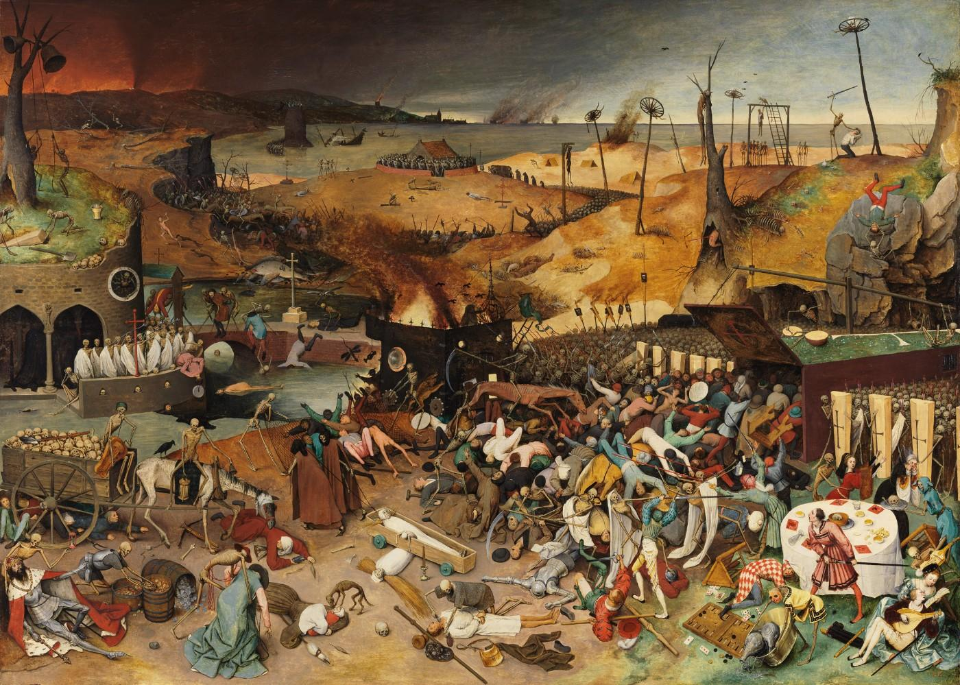 Pieter Bruegel the Elder, The Triumph of Death, probably after 1562
