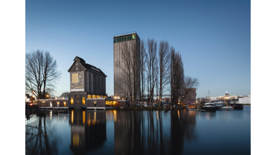 Fooddock, Deventer, Netherlands, Wenink Holtkamp Architecten; transformed 2015.