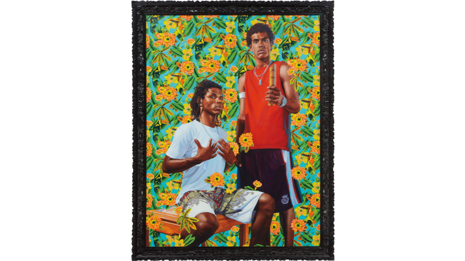 kehinde wiley double portrait