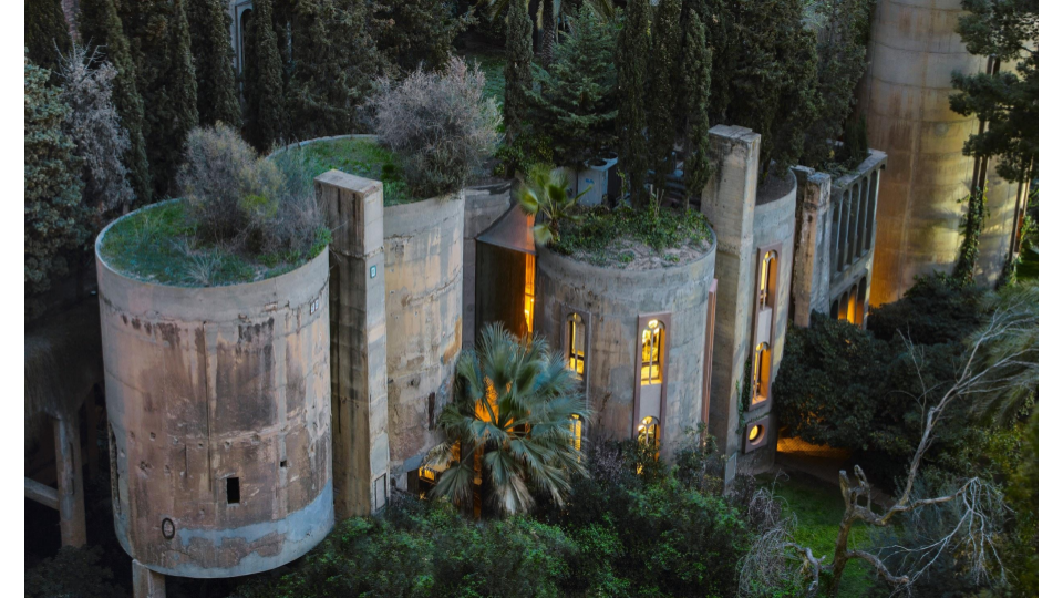 La Fábrica, Sant Just Desvern, Spain; Ricardo Bofill; transformed 1975–.