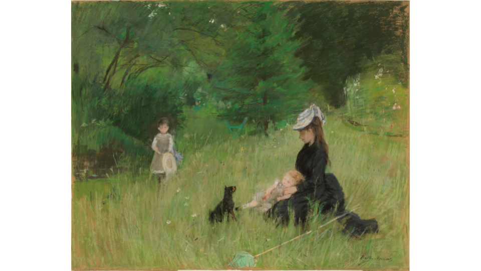 Berthe Morisot, In the park, c. 1874. Petit Palais, Museum of Fine Arts of the City of Paris.