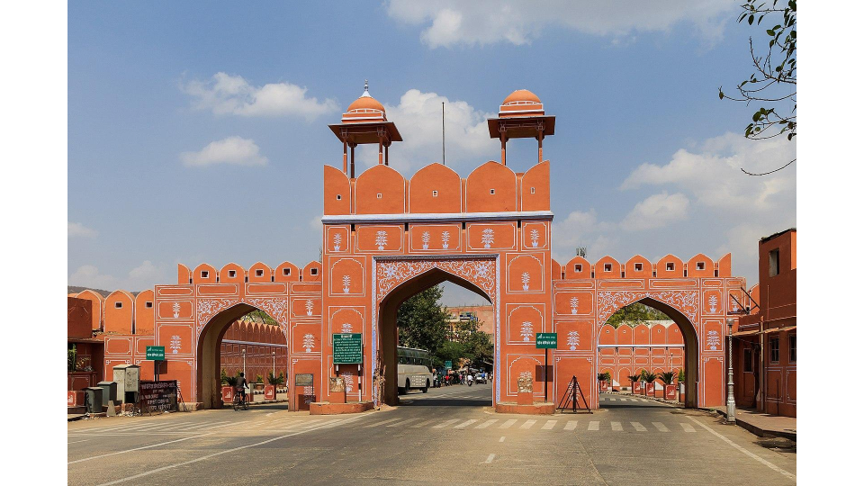 Jorawar Singh Gate in Jaipur, India