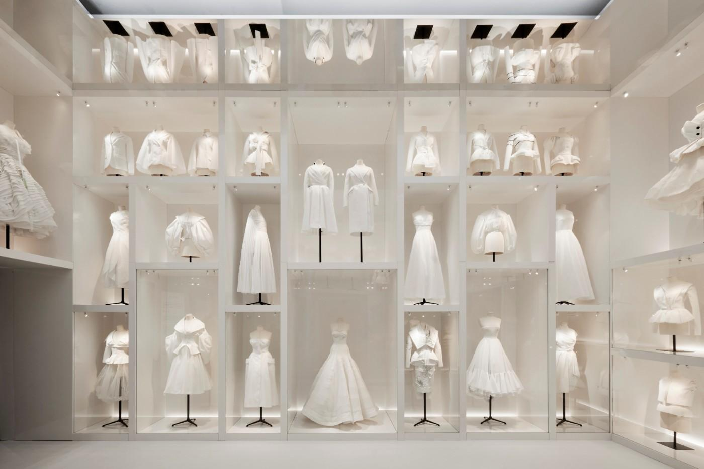 The V&A's Christian Dior Designer of Dreams exhibition, Atelier section