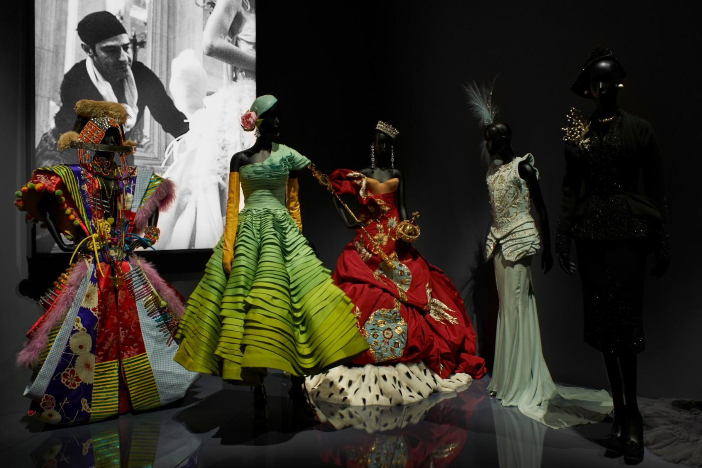 The V&A's Christian Dior Designer of Dreams exhibition, Designers for Dior section