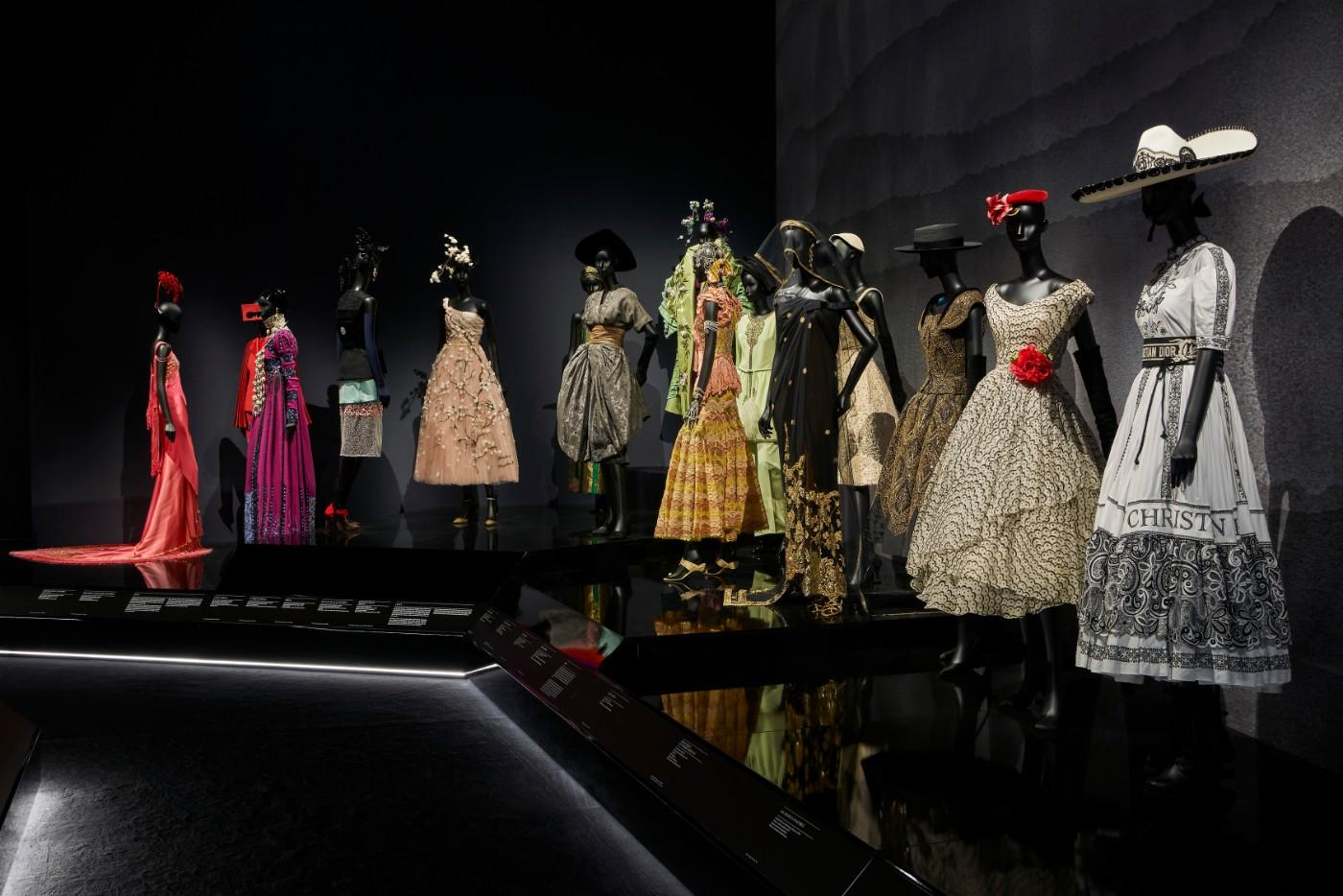 The V&A's Christian Dior Designer of Dreams exhibition, Travels section