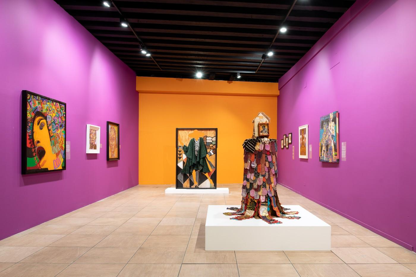 AFRICOBRA: Nation Time (installation view), 2019, Venice Biennale, Venice, Italy