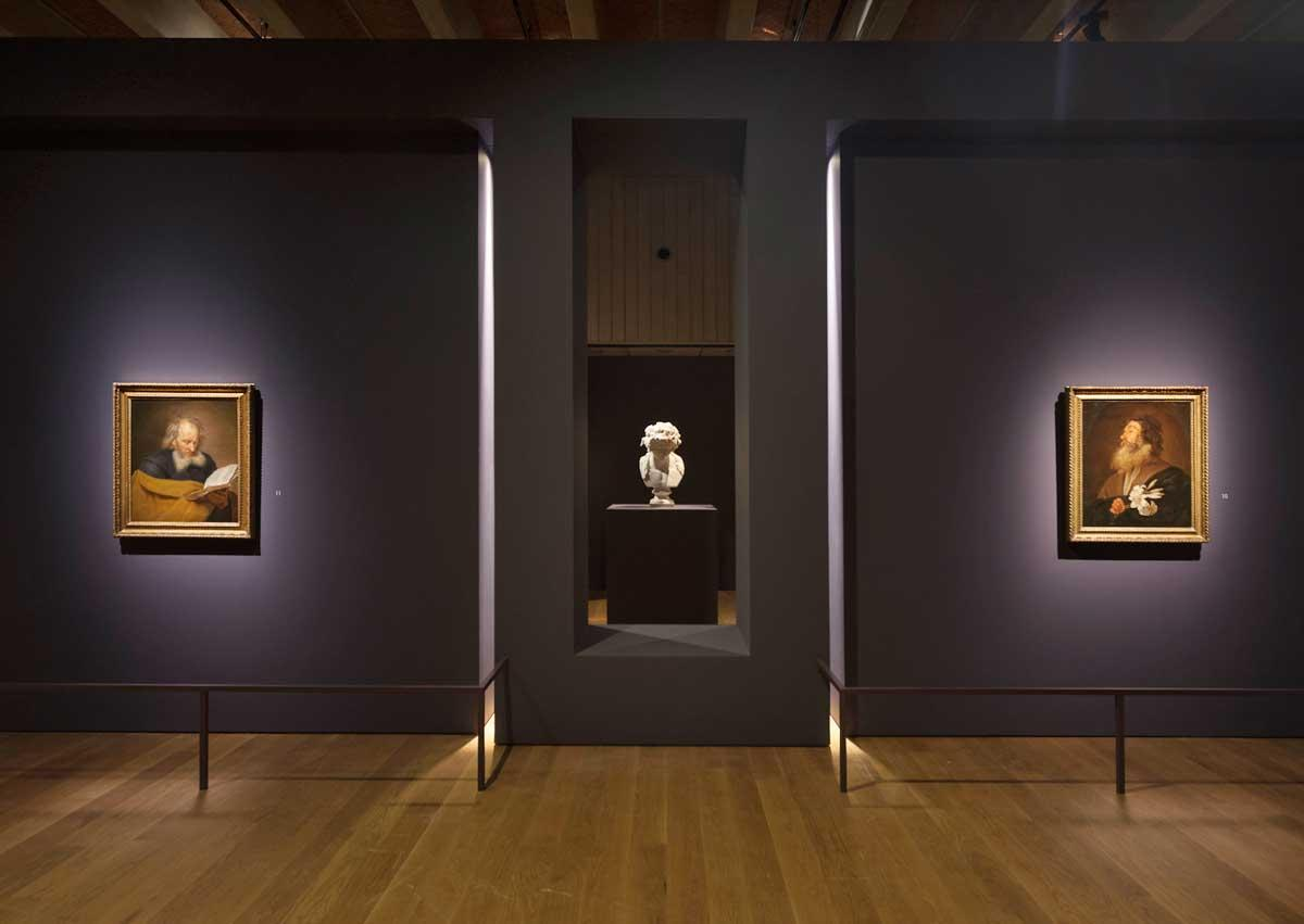 Installation view of Michaelina: Baroque's Leading Lady