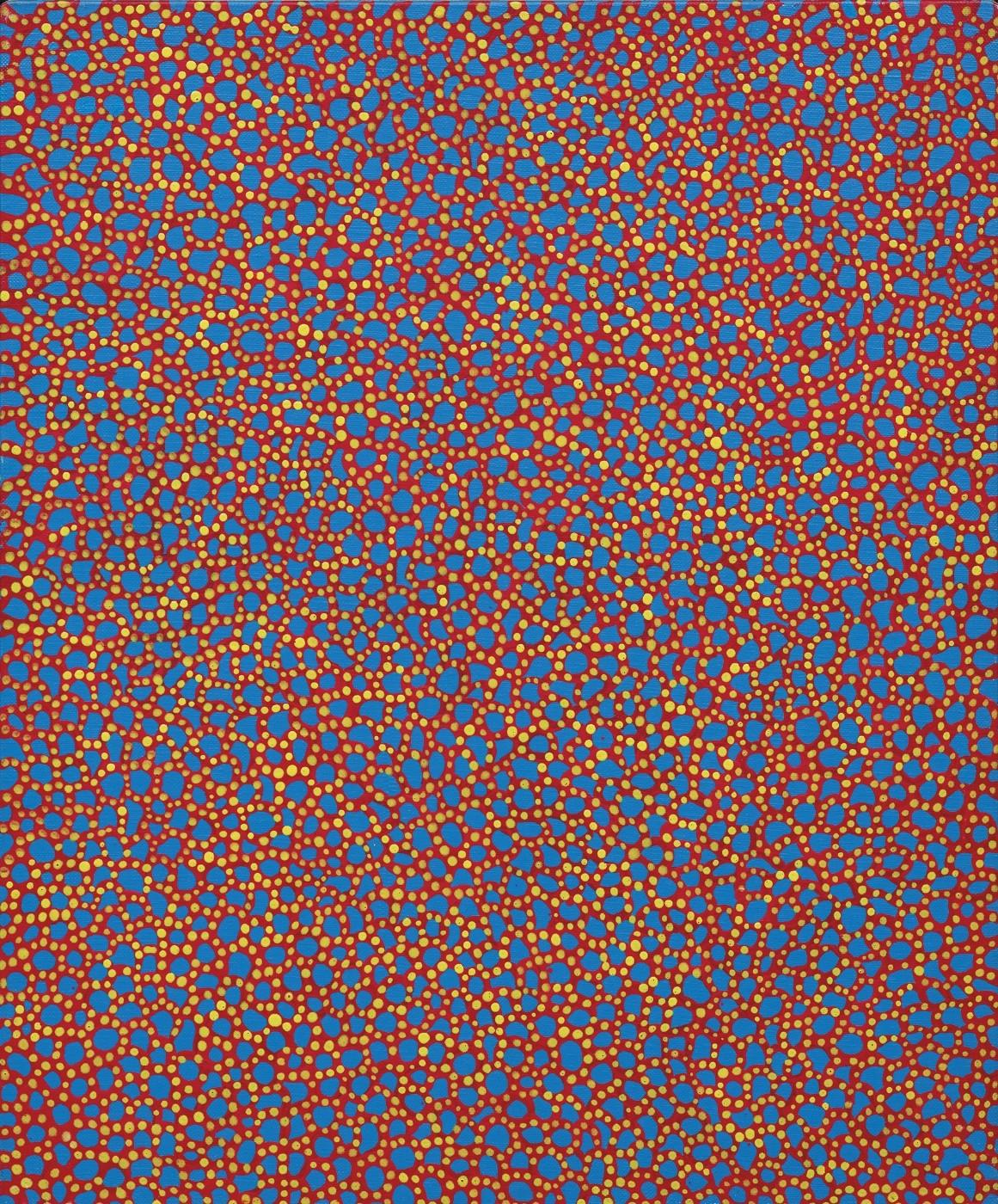 Yayoi Kusama, The Thames in the Morning, 1988