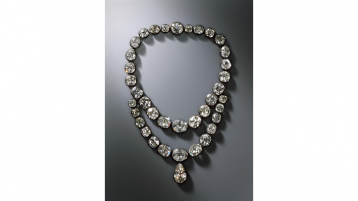 diamond Necklace belonging to Queen Amalie Auguste, Dresden 1824.
