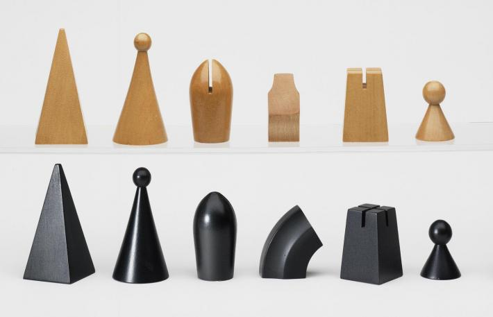 modern chess pieces