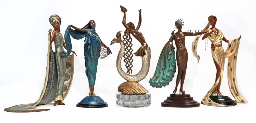 Erté Sculpture Selection