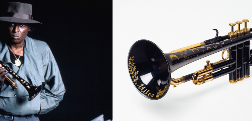 A 'Martin Committee' Trumpet in B Flat, Model T3460, by the Martin Co., circa 1980. Estimate: $70,000-100,000.