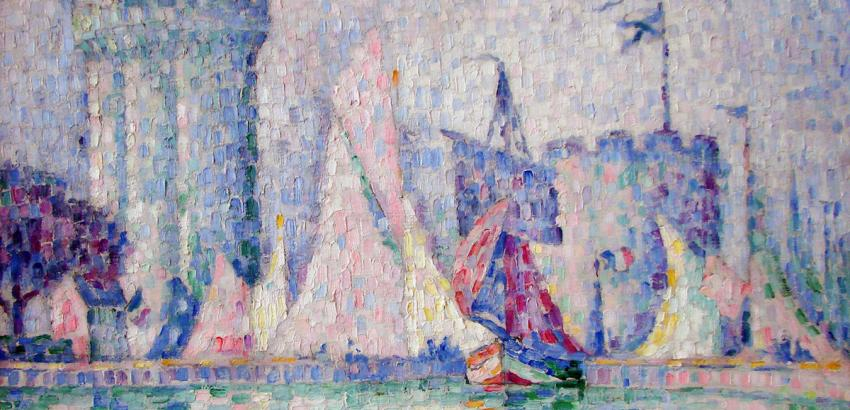 Paul Signac, Port de la Rochelle, 1915