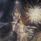 detail of star wars poster